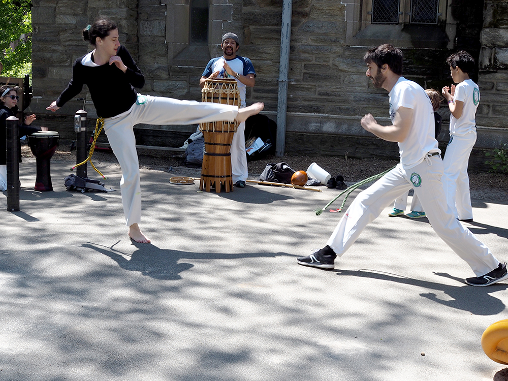 PIC's Day of Play 2019 capoeira demo