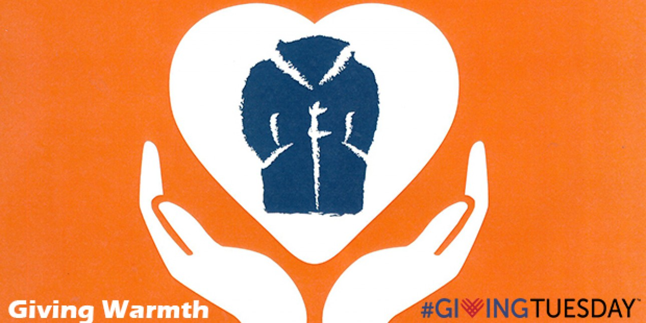 Giving Warmth on #GivingTuesday