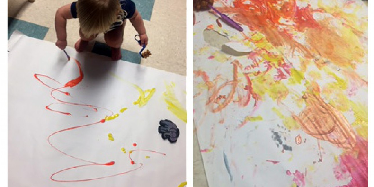 Creative expression in the Caterpillar classroom
