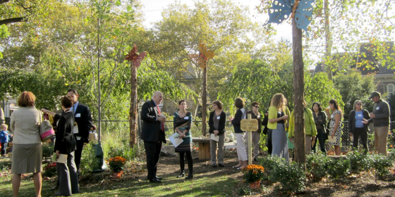 Donor Recognition Breakfast for the Magic Circle Nature Playground