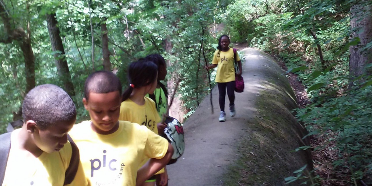 PIC Summer Camp hikes the Wissahickon